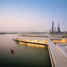 Álvaro Siza + Carlos Castanheira I The Building on the Water | Industrial Park - Shihlien China Fotografia | Últimas Reportagens _ FG+SG