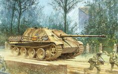 Jagdpanther in action