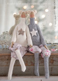 Shabby Art Boutique Tilda christmas cuties
