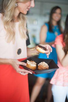 throw a doughnut tasting brunch!