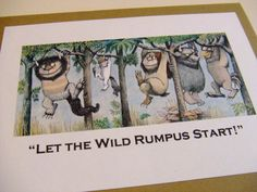 Let the Wild Rumpus Start   Where the Wild by prettypetalspaper