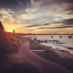 Sunsets in Port Elizabeth beach, South Africa. For visit, hire a car from : www.carrentalportelizabethairport.com