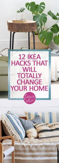 12 IKEA Hacks That Will Totally Change Your Home| IKEA Hacks, IKEA Home Hacks, DIY IKEA Home Hacks, DIY Home Decor, Home Decor Hacks, Home Decor IKEA Hacks, Home Decor 101, Popular Pin