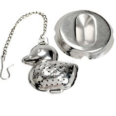 #Cu3 Duck Shape Stainless Steel Infuser Filter Strainer Tea Ball Spoon $1.88