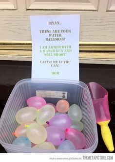 Best Mom Ever… so doing this someday!!!!