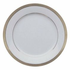 10 Strawberry Street Luxor Bread and Butter Plates - Set of 6 by 10 Strawberry Street. $56.99. When your dinner party requires an elegant presentation the 10 Strawberry Street Luxor Bread and Butter Plates - Set of 6 - along with the rest of the Luxor dinnerware set (sold separately) - will deliver. Made from high-quality porcelain these plates have a beautiful finish with metallic bands around the rims to create a luxurious look and feel.About 10 Strawberry S...