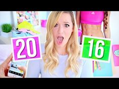 New Year's 2016!! Resolutions, Organization, and Tips! + I'M BLONDE!!! Alisha Marie - YouTube