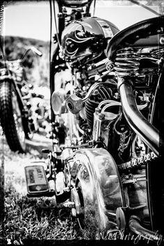 12x18 in. Poster, Vintage Harley Davidson Motorcycle Garage Art Hot Rod Man Cave #UrbanArt