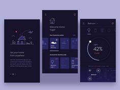 30 Inspiring examples of smart home app