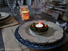 ...ultimissime dal forno...: 22♥ POESIA... NATALE AL VERDE... WAITING FOR CHRIS... Tea Lights, Table Settings, Candles, Christmas, Waiting, Anna, Lifestyle, Party, Oven
