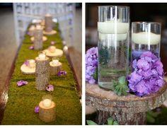 Sweet Violet Bride - http://sweetvioletbride.com/2013/03/rustic-green-purple-wedding-from-garden-party/