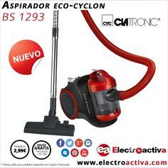 ¡¡Nuevo aspirador potente y silencioso!! Aspirador CLATRONIC BS 1293 http://www.electroactiva.com/clatronic-aspirador-bs1293-rojo.html #Elmejorprecio #Aspirador #Electrodoméstico #PymesUnidas