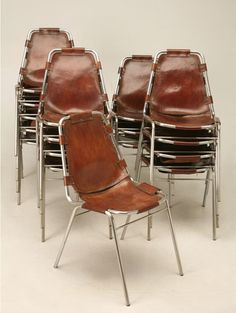 Charlotte Perriand chairs.