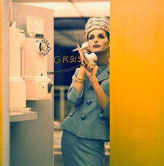 Anne St. Marie, photo by Jerry Schatzberg 1960's fashion