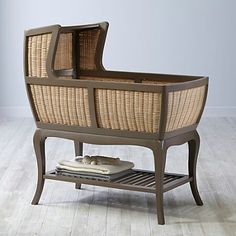 As for a delish bassinet if I were to have a nursery instead of girl's or guest's rm...