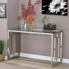 Shop for Luxe Console Table. Get free shipping at Overstock.com - Your Online Furniture Outlet Store! Get 5% in rewards with Club O!