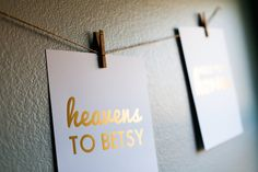 SALE++Gold+Foil+Southern+Sayings+11+x+14+by+StephanieCreekmur,+$25.00