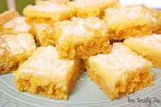 Buttery Cream Cheese Bars, Yum!   ...  my Mom has been making these since, well, forever.  As a child I hated them.  As an adult, I love them!  They're so rich, buttery, and cream cheesey.