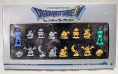 RARE! Dragon Quest Dungeon Monster Mini Figure Set JAPAN ANIME WARRIOR