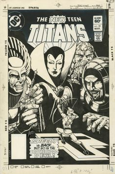 New Teen Titans n°29 by George Perez