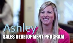Ashley graduated from our #Sales Development Program and is now a #business #analyst for Nestle #beverages. She currently gathers data and analyzes metrics to help support account managers in the field. At #Nestle, there are numerous paths to help you grow your #career.