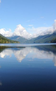 Lake Crescent | Travel | Vacation Ideas | Road Trip | Places to Visit | Port Angeles | WA | Nature Reserve | Hiking Area | Lake | Campground