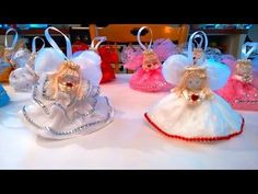 Beautiful Angel - Just a plastic bag, some string and beads - Easy!! - YouTube