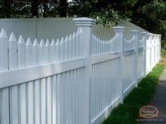 Open-Spaced Picket | Vinyl Gallery | Colonial Fence Co. Norfolk, MA