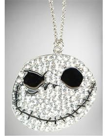 Nightmare Before Christmas Jack Bling Charm Necklace. Nightmare Before Christmas Jack Bling Charm Necklace. Price: $19.99