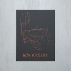 New York City Poster – LinePosters