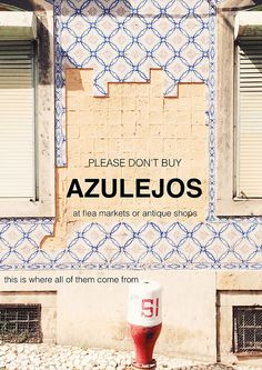 please don't buy azulejos | Flickr - Photo Sharing!