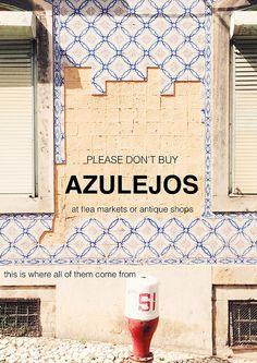 De passeio ontem por Lisboa, a caminho de Alcântara. Temos esta sorte, de vivermos rodeados de padrões no chão e nas paredes. Estamos habituados, mimados, achamos que vai ser sempre assim. Houve um...
