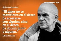 Lo mejor de Milan Kundera (+Frases) - culturizando.com | Alimenta tu Mente