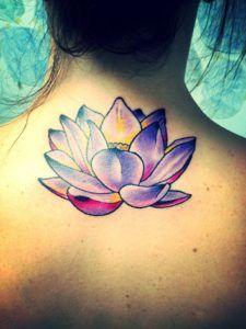 pretty lotus flower tattoo                                                                                                                                                                                 More