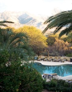 Miraval Arizona Resort & Spa - poolside ~ Feel rejuvinated, rested and alive again...