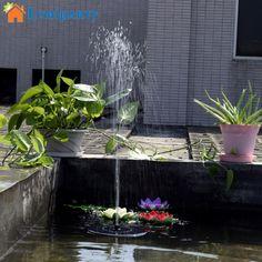 buy on wallmart.win Lumiparty Hot Sale 7V Floating Water Pump Solar Panel Garden Plants Water Power Fountain Pool: Vendor: Wallmart Type:…