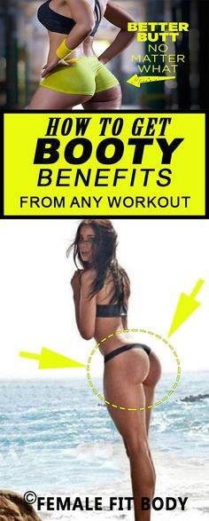 Kick your glutes into overdrive: How to Get Booty Benefits from ANY Workout
