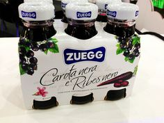 Zuegg: Succhi Carota nera e ribes