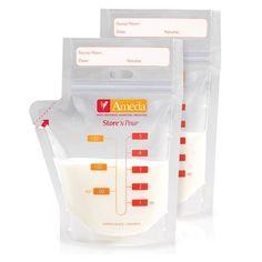 3. Ameda Store 'n Pour Breast Milk Storage Bags