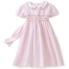 Classic Girl's Smocked dress, very modest! :)