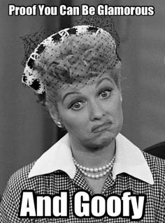 Lucy was Glamorous and Goofy!  Jackson Square Mall, 112 E. Burlington Ave, La Grange IL 50+ Dealers, Vintage, Home Decor, Antiques & More Follow us on Facebook!