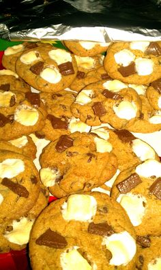 S'mores Cookies - super yummy!!!