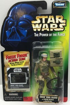 1997 Hasbro Star Wars The Power Of The Force Endor Rebel Soldier This item is NOT in Mint Condition and is in no way being described as Mint or even Near Mint. Our toys have not always lead the perfec
