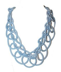 blue tangled neck - Accessories by ASH