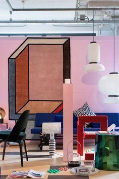 Tapetes 'Visioni' geometria e cores - cc-tapis por Patricia Urquiola