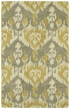 Rugs USA Kaleen Casual Castaway Ikat Graphite Rug