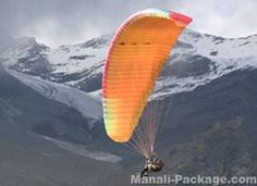 Enjoy paragliding in Manali