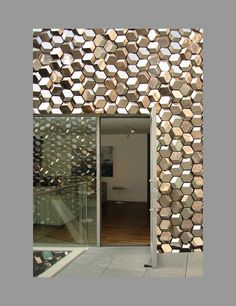 silver facade by olafur eliasson #decor #architecture #olafur