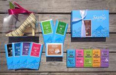 Mixed #SkelligsChocolateBars  #71%DarkChocolate #54%DarkChocolate #MilkChocolate #WhiteChocolate #handmadechocolatebars