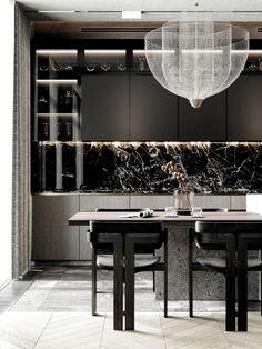 Kitchen Design Open, Luxury Kitchen Design, Luxury Kitchens, Interior Design Kitchen, Diy Interior, Open Kitchen, Rustic Kitchen, Tuscan Kitchens, Interior Colors